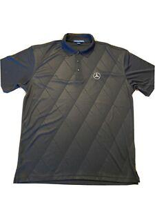 Mercedes Benz Polo Shirt Black Port Authority  Size L