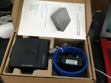 Cisco SPA112 - 2 Port Phone Adapter Opened box