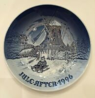Bing & Grondahl Winter At The Old Mill Christmas Plate 1996 Certificate New