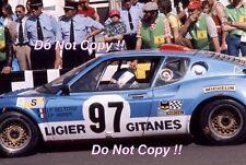 Jean-Pierre Beltoise & Jean-Pierre Jarier Ligier JS2 Le Mans 1975 Photograph