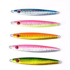 New listing 5pcs Lot Lead Fish 30g fishing lures 5 color Fishing Bait Casting Lure Deep Bass