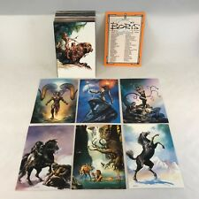 BORIS VALLEJO SERIES 2 (Comic Images/1992) COMPLETE TRADING CARD SET