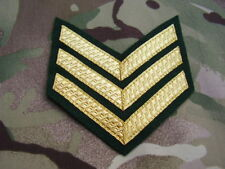 Royal Marines Commando/SBS SPECIAL BOAT SERVICE - Lovat Jacket SNCO/SGT Stripes