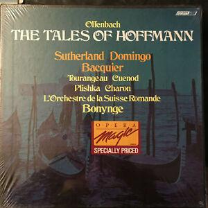 Offenbach Tales of Hoffmann BONYNGE Sutherland Domingo Bacquier SEALED 3 LP Box