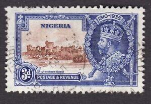 Nigeria 1935 Silver Jubilee 3d SG32 FU fine used