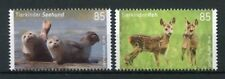 Germany 2018 MNH Baby Animals Deer Seals 2v Set Wild Animals Fauna Stamps