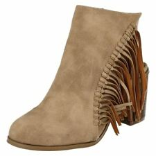 Calzado de mujer botines Beige Talla 38