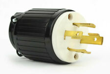 Twist Lock Electrical Plug 4 Wire, 30 Amps, 125/250V, NEMA L14-30P  - YGA025