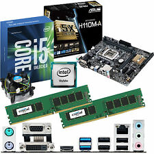 INTEL Core i5 6600K 3.5Ghz & ASUS H110M-A & 8GB DDR4 2133 CRUCIAL Bundle