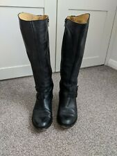 Seven Boot Lane - Knee High Black Boots - Size 5