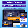 Online Courses Business Affiliate Website Store Free Hosting+Installation