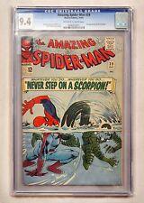 Amazing Spiderman #29 CGC 9.4 (NM) OW/WP - 2nd App. Scorpion -Stan Lee Ditko Art