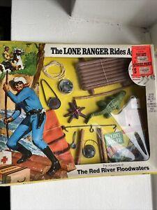 Marx Gabriel Lone Ranger The Red River Flood Waters Set MIB