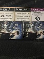 12 Universal Studios Hollywood Front Of The Line Priority Passes Harry Potter