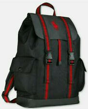 Ralph Lauren Polo Backpack Bookbag Red New With Tags