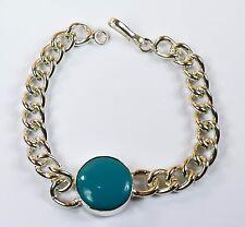 Turquoise Feroza Gemstone Bollywood Fashion Salman Khan Style Men's Bracelet -6