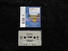 CHAUSSON, Concert For Violin, Piano & String Quartet Perlman+ USA tape cassette