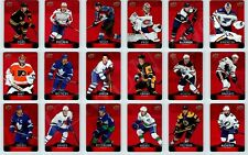 2020-21 UD TIM HORTONS DC RED DIE CUT PARALLELS - Finish UR Set - PICK FROM LIST