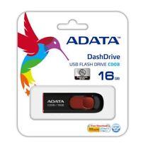 ADATA C008 16GB USB 2.0 Retractable Capless Flash Drive Memory Stick Storage