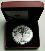 2013 Proof $50 5 oz .9999 silver Shannon Chesapeake War 1812 Canada fifty