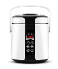 6 Cup 110V Digital 24 Hour Timer Portable Mini Rice Soup Porridge Cooker Steamer