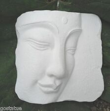 Gostatue side view buddha oriental face mold concrete buddha mold plaster mold