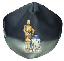 Face Mask R2d2 C-3PO Star Wars Washable Double Layer Printed Adult Unisex Handma