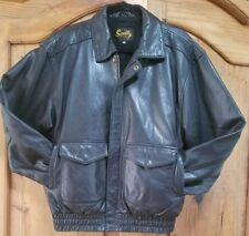Black Scully Mans Buttery Leather Jacket