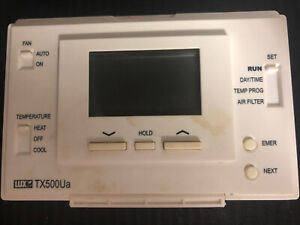 LUX TX500Ua Smart Temp Universal 5/2 Day Programmable Thermostat