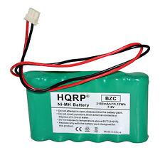 Hqrp 2100mAh Backup Battery for Adt 300-03866 Lynxrchkit-Sha Replacement