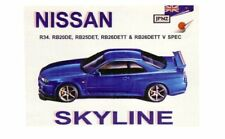 OWNER'S MANUAL FOR NISSAN SKYLINE R34 GTR RB26DETT RB25DET  RB20DE JPNZ5