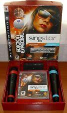 SingStar Pop 2009 Edición Especial + 2 Micrófonos Inalámbricos, receptor USB,PS3