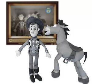 Woody & Bullseye Plush Toy Story Set 25 Anniversary Limited Release
