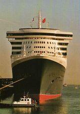 """CP - Le """"Queen Mary 2"""" de la CUNARD Quai de France Cherbourg le 14 avril 2004"""