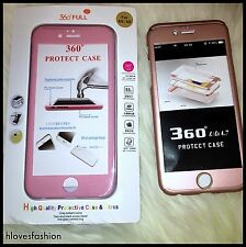 ✨📱2 X iPhone Protective Shockproof Case Pink + Rose Gold FAST📮📱✨