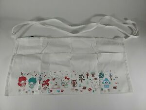 """Loot """"GARDEN PARTY"""" Exclusive Hello Kitty HALF APRON FEATURES FAVORITE FRIENDS"""
