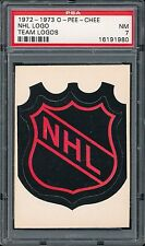1972-73 OPC Team Logo NHL PSA 7