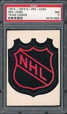 1972-73 OPC Team Logo NHL PSA 7
