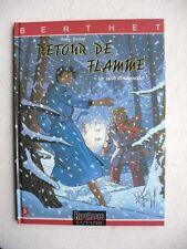 BERTHET LE PRIVE D'HOLLYWOOD RETOUR DE FLAMME EO ETAT NEUF AVEC LE POSTER