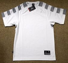 Nike sz S Jordan Team Shooting Men's Basketball Shirt NEW  427356 101 White