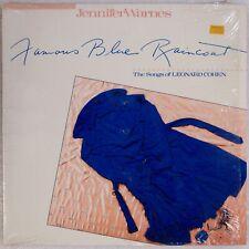 JENNIFER WARNES: Famous Blue Raincoat US Cypress Audiophile Orig LP NM Vinyl
