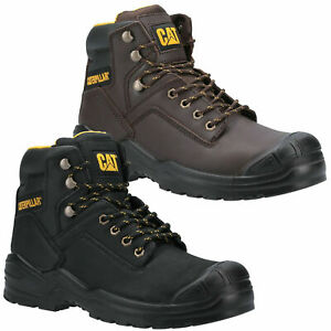Mens Caterpillar Striver Bump Safety Steel Toe/Midsole S3 Boots Sizes 6 to 13