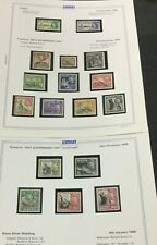 MOMEN: MALTA MINT COLLECTION ON 2 PAGES LOT #6270