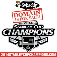 2014 STANLEY CUP CHAMPIONS .COM - LA KINGS - Hockey - Domain Name - GoDaddy