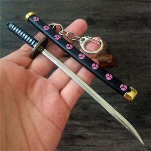 Japanese Samurai Sword Keychain Scabbard Katana Zoro Long Knife & Sword Sheath