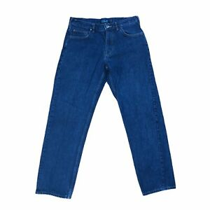 Patagonia Iron Clad Jeans Straight Leg Regular Fit Stretch Dark Wash Men's 33x32