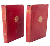 The Winning of the West by Theodore Roosevelt Volume 2&3 Statesman Edition,Antiq