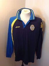 VTG Hellas Verona Football Shirt Jersey SZ XXL Italy Scaligeri Long Sleeve Asics