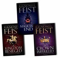 Raymond E. Feist Chaoswar Saga 3 Books Collection Pack Set
