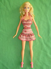 Pretty Straight Leg Barbie Doll and Pink Outfit